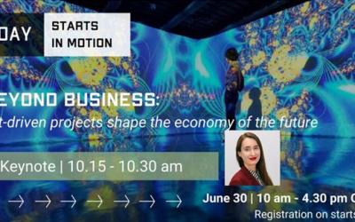 MediaFutures Coordinator: Keynote speaker for STARTS in Motion Day 2021