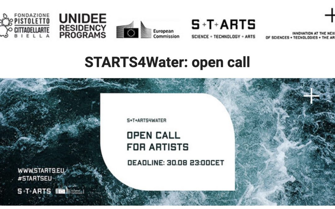 starts4water open call