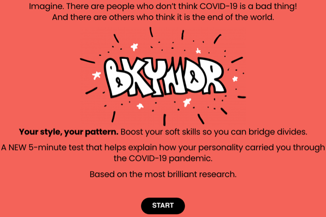 BKYNDR, a platform with the superpower to bridge divides and advance humanKIND