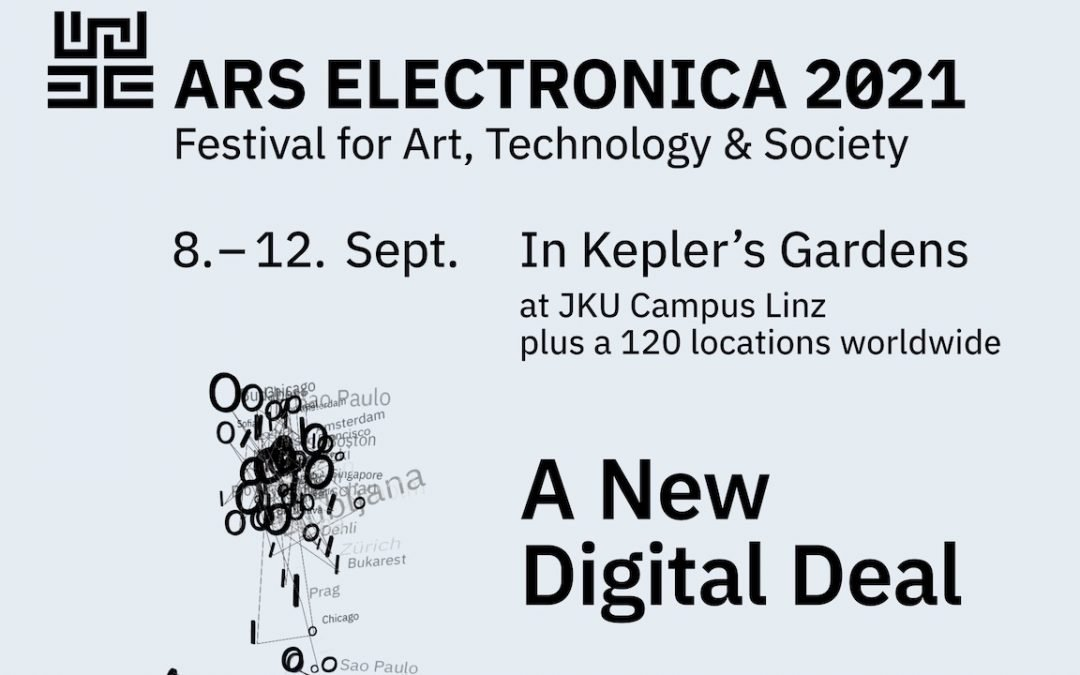 Participate in the MediaFutures events at the Ars Electronica Festival 2021 on 9 and 10 September 2021